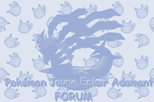 Pokémon Jaune eclair Adamant Pourpre Andesine! Index du Forum