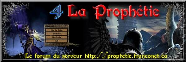 Forum T4C La Prophétie Index du Forum