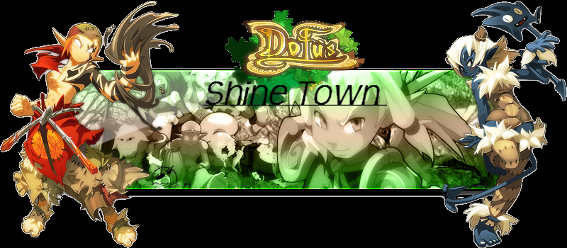 ShineTown ! Dofus / Serveur privée Index du Forum