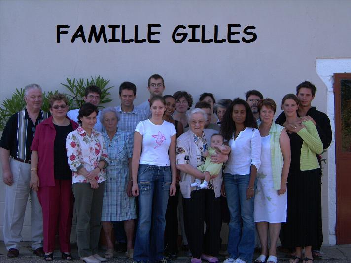 Forum de la famille GILLES Index du Forum