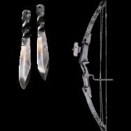 cette arc et ces couteaux son à Dray