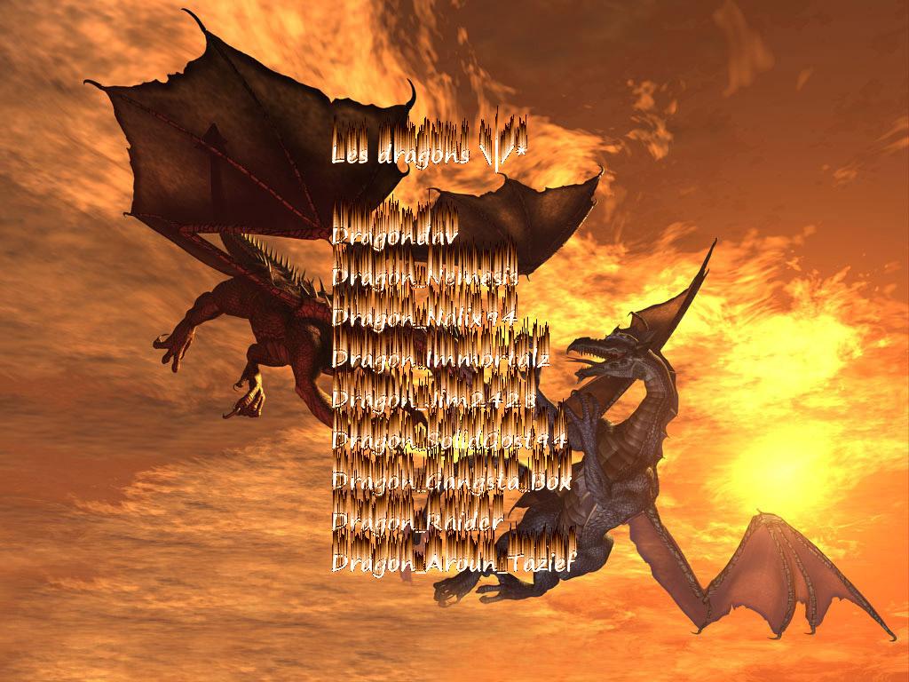 les dragons original mw2 Index du Forum