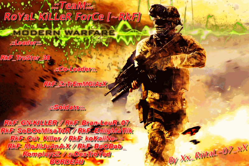 royal killer forces ! Index du Forum
