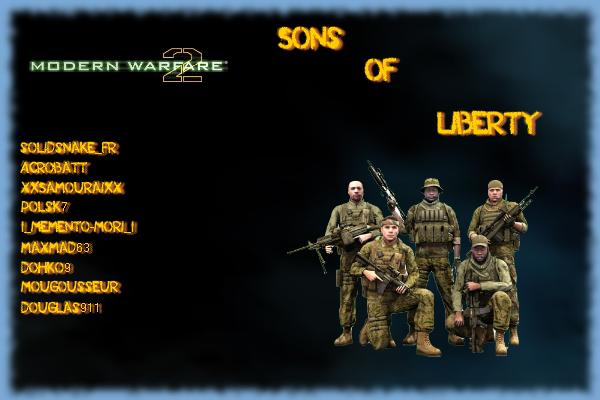 Sons Of Liberty Index du Forum
