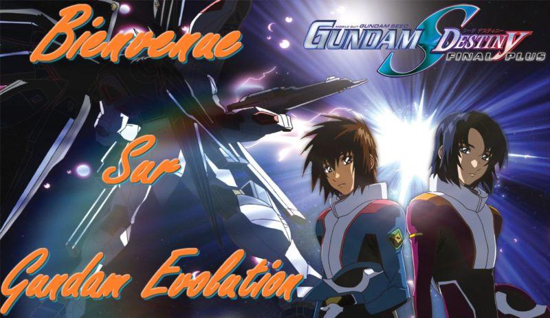 gundam evolution Index du Forum